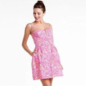 Lilly Pulitzer Chum Bucket Georgie Floral Dress